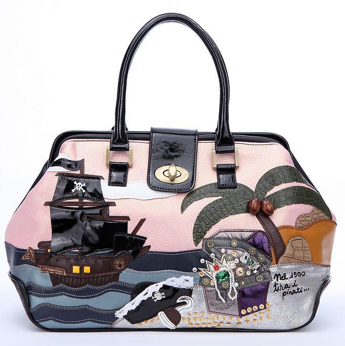 Купить - Сумка-клатч Braccialini Fringuello миниатюрная из мягкой бежевой кожи с Купить - Наплечная сумка Braccialini...
