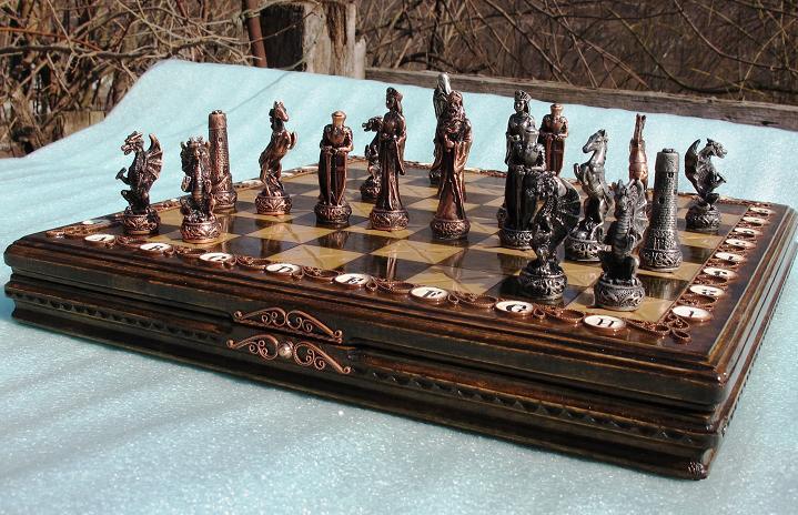 шахматы легенды медная филигрань купить киев цена доставка