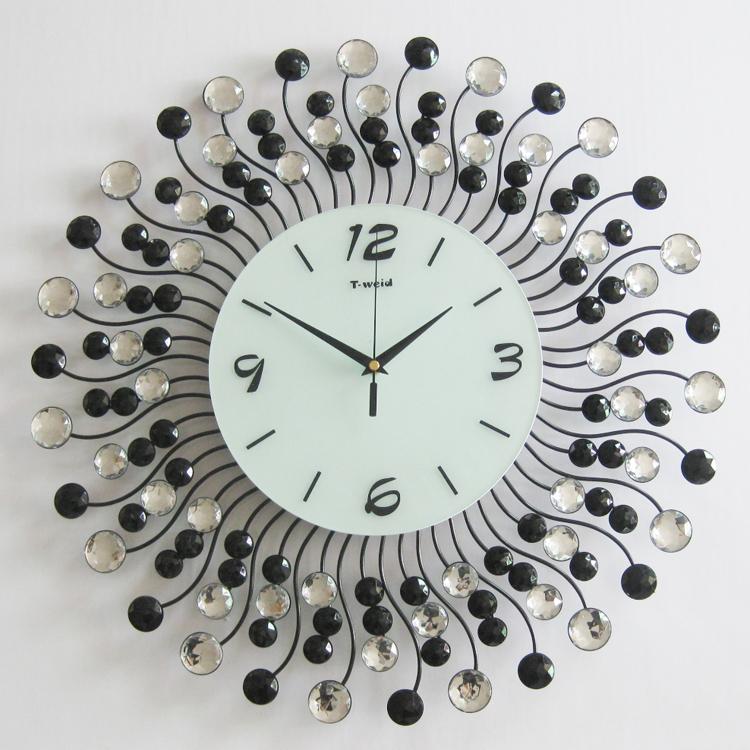 Купить Часы с чёрно-белыми шариками (Киев) из раздела Настенные часы  1450  грн. e94b588453ed7